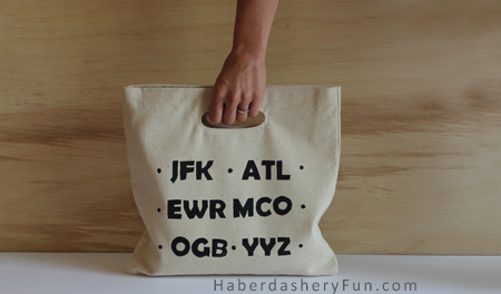 Freezer Paper Printing: Make a Tote Bag