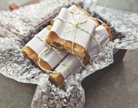 Almond, Fig and Apricot Squares