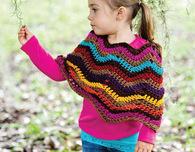 Crochet Chevron Poncho