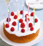 Gluten Free Lemon Zest Birthday Cake