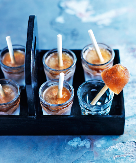 Black Russian Ice Pops