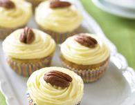 Banana & Pecan Cupcakes