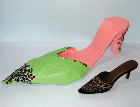 Crafts for Kids — Papier-Mâché Shoes