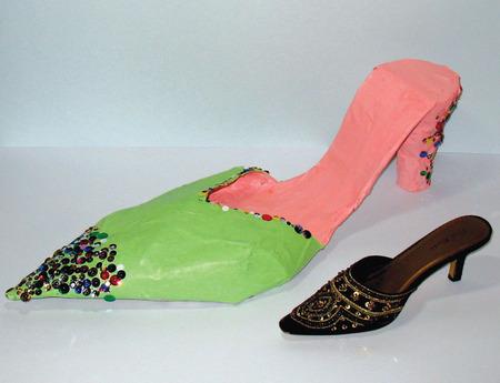 Crafts for Kids — Papier-Mâché Shoes