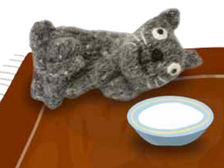 Max the Cat Free Knitting Pattern