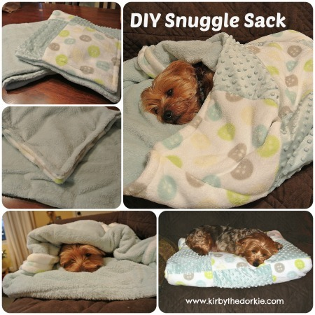 Doggie Snuggle Sack (Free Sewing Pattern)