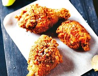 Buttermilk Fried Chicken with Chipotle Mayonnaise