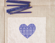 Cross Stitch Heart Pattern (Free Embroidery Pattern)