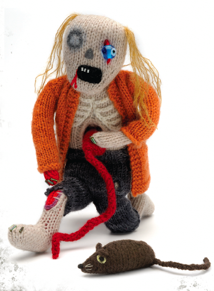 Crochet Zombie Patterns : Classic Zombie Doll Knitting Pattern - Craftfoxes