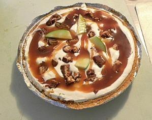 Snickers Caramel Apple Pie