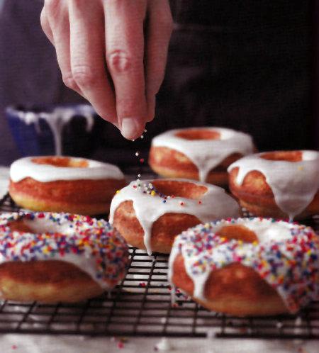 Gluten Free Glazed Baked Doughnuts