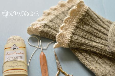 Big Woolies Crochet Sock Edging