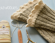 Big Woolies Crochet Sock Edging