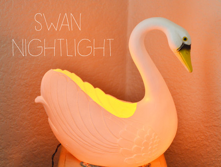 Recycled Swan Nightlight Tutorial