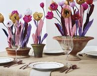 Twisted Paper Tulips, by Paper to Petal