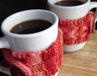 His and Hers Coffee Cozies
