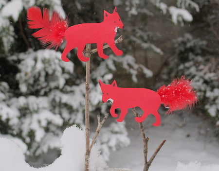 Sneaky Foxes — Paper Dolls for Kids