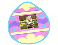 Duck Tape® Easter Egg Photo Frame Tutorial