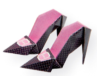 Cute Origami Paper Tutorial: High-Heeled Shoes