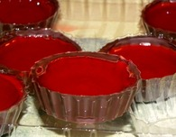 Jelly Ring Chocolate Cups