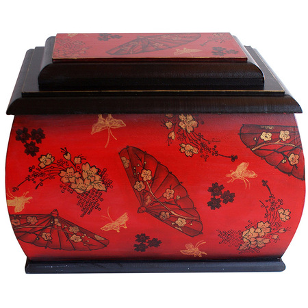 Asian Umbrella Box by Debbie Cole