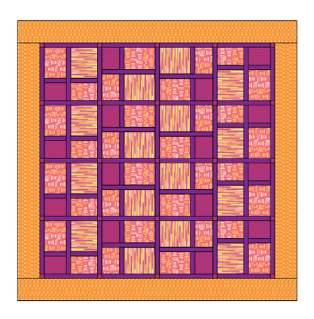 Sizzling Quilt Pattern