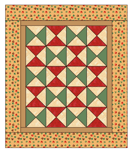 Hourglass Quilt Pattern
