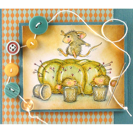 House-Mouse® Pin Cushion by Suzanne Czosek