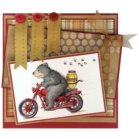 Gruffies® Honey Ride by Jennifer Dove