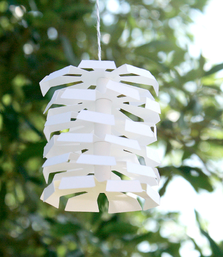 Tiered Paper Garland Ornament
