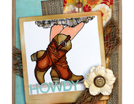Cowgirl Boots by Wendy Price
