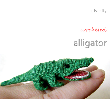 Itty Bitty Alligator Crochet Pattern Craftfoxes
