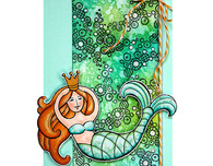 PenPattern Mermaid by Wendy Price