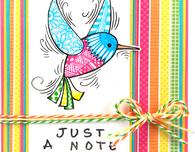 PenPattern Hummingbird by Kristine Reynolds