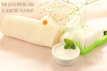 Baking Soda Skincare Recipe