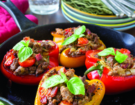 Italian-Style Stuffed Bell Peppers
