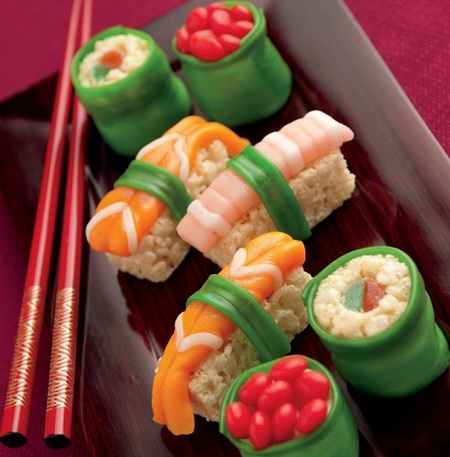 No-Bake Kids' Dessert: Sweet Sushi