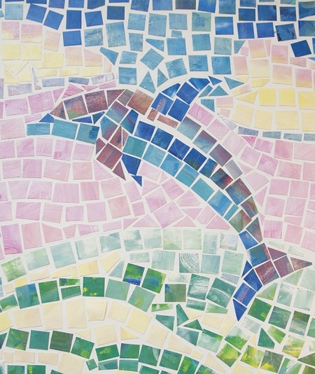 Upcycle an Old Painting into a Mosaic