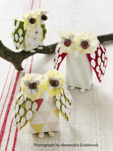 Juice Box Owl Craft for Kids
