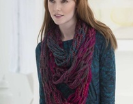 Three Strand Arm Knit Cowl (Free Knitting Pattern)