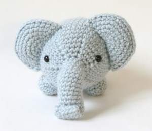 Ellie the Elephant amigurumi pattern - Amigurumipatterns.net | 260x300