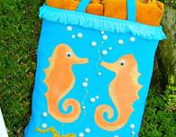 Seahorse Tote Bag DIY