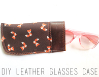 Leather Glasses Case DIY