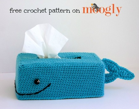 Get Whale Soon Tissue Box Cover