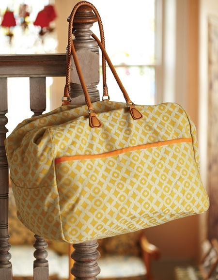One-Hour Tote: The Weekend Bag (Free Sewing Pattern)