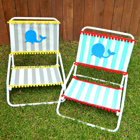 Lounge Chair Makeover