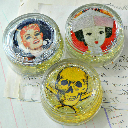 Tea Light Paperweights