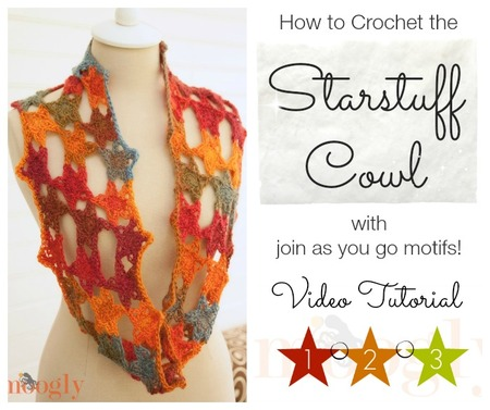 Starstuff Cowl Video Tutorial