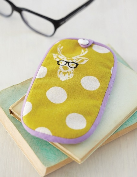 30-minute Sewing Project: Funky Eye Glasses Case
