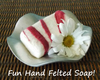 How to Make Hand Felted Soap